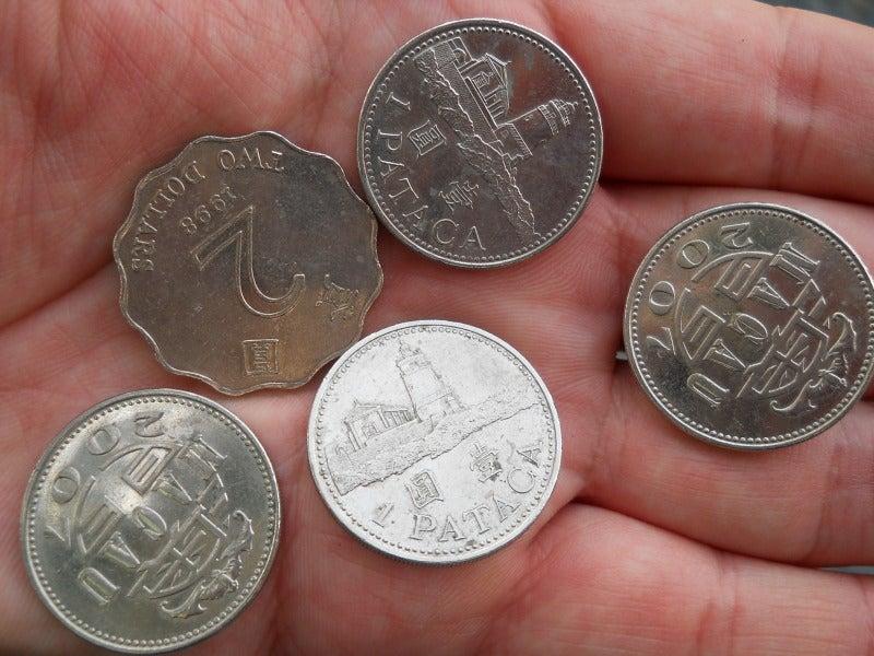 マカオのコイン