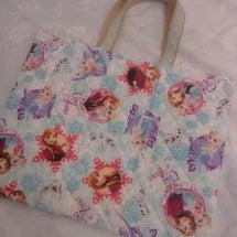 娘の絵本バッグ