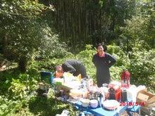 西原村 ボラ支援炊き出し