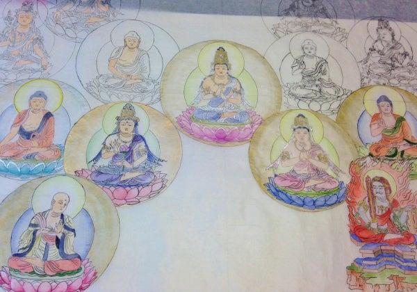 十三仏曼荼羅