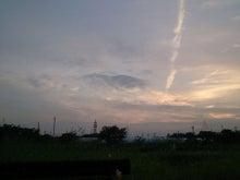 熊本 あの日垂直に細く立ち昇る地震雲1
