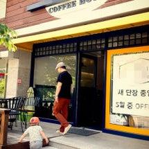 義弟のカフェへ
