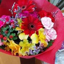 癒しの花束