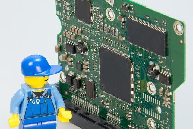 基盤とレゴの職人
