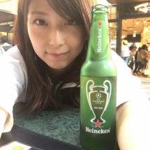 ひと休みビール♡