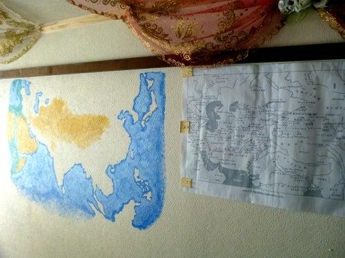 キャラバン6壁画