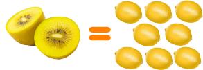 レモン8個分