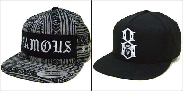 FAMOUS STARS AND STRAPS x REBEL8 Cap