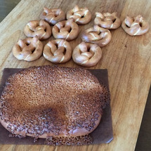 5月のパン教室のパン…