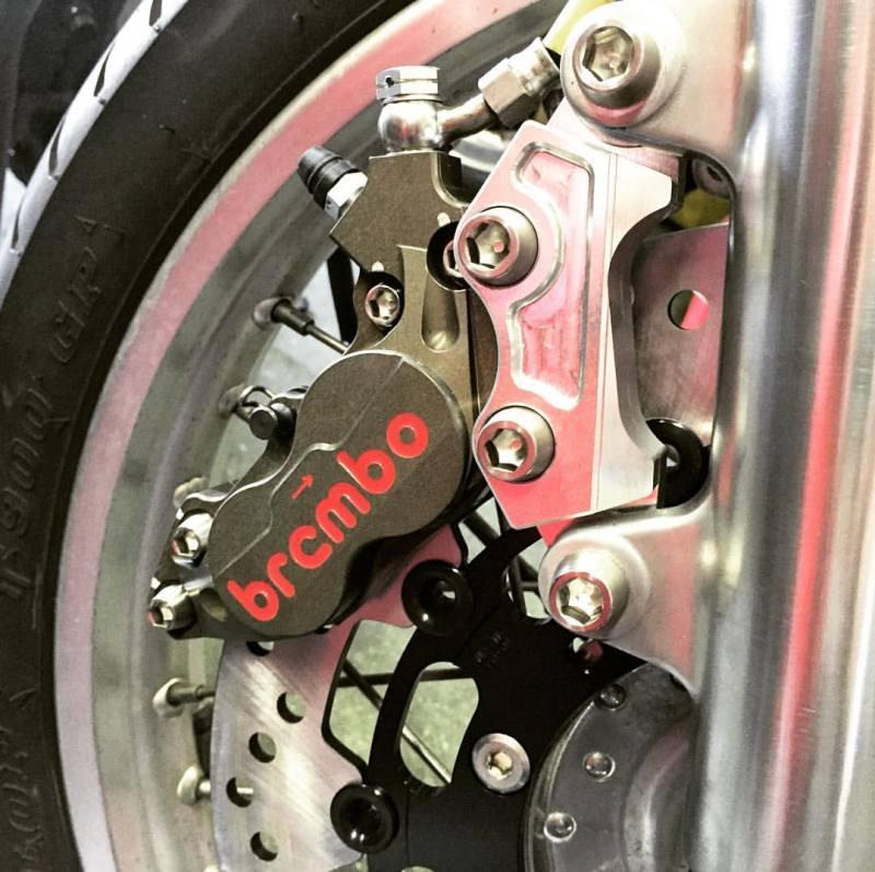 Brembo front brake upgrade