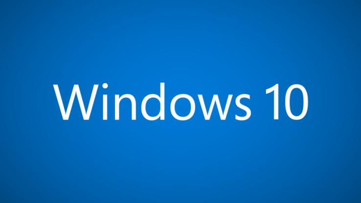 Windows10画面
