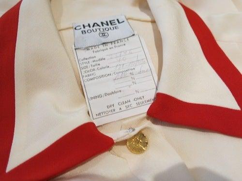 CHANEL ヴィンテージ シャネル ショート ジャンプスーツ シルク