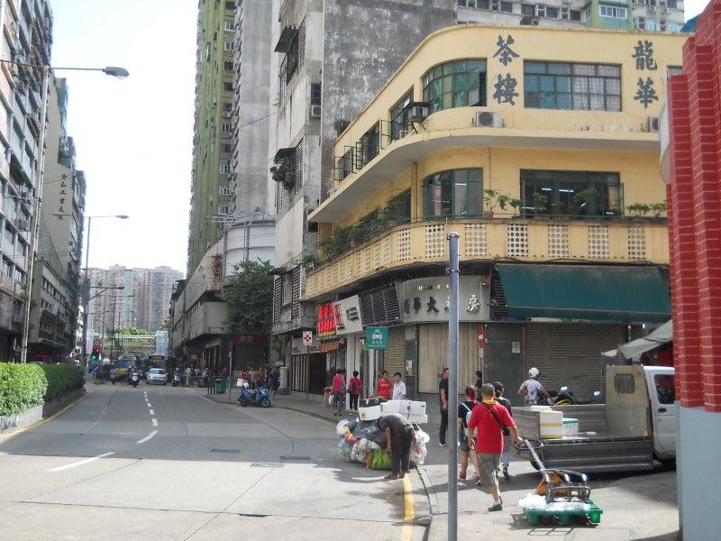 龍華茶楼の外観