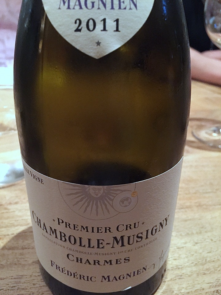 Frederic Magnien  Chambolle-Musigny Charmes
