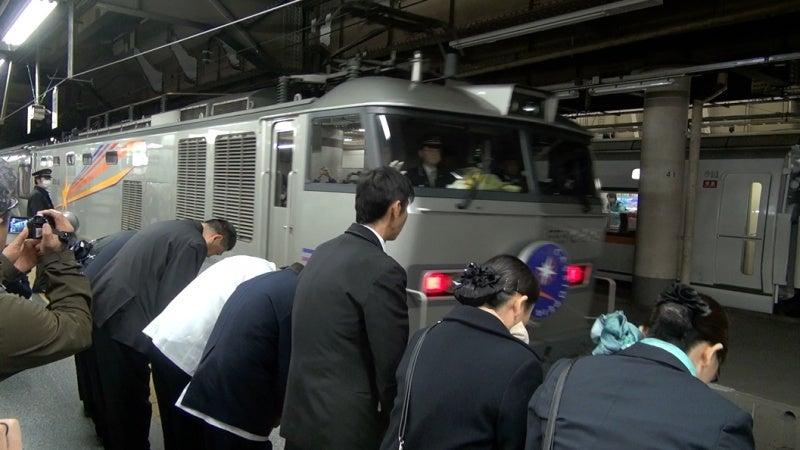 カシオペア推進運転で上野駅出発