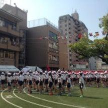 長女の小学校の運動会