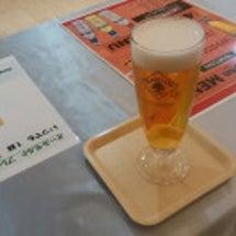 暑い時にはビールと…