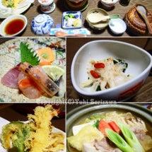 飯坂温泉の宿で部屋食