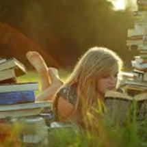 ベランダで読書・・・…