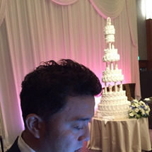 結婚式ーー!