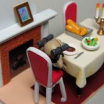 一人ぼっちの食堂
