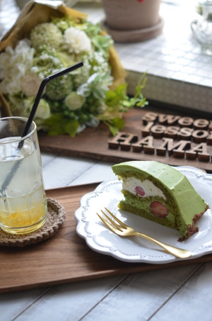 sweets lesson HAMANO 大阪 お菓子