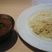 お昼カレーつけ麺開始