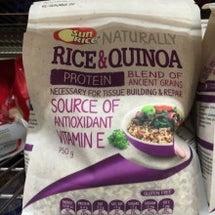 キヌアとお米は一緒に…