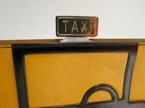 HERMES ヴィンテージ エルメス サックアマリース 1989年 タクシー