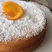 バニラ香るケーキ〜❗…