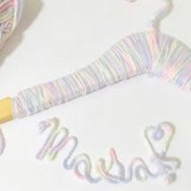 毛糸とワイヤーで…♡