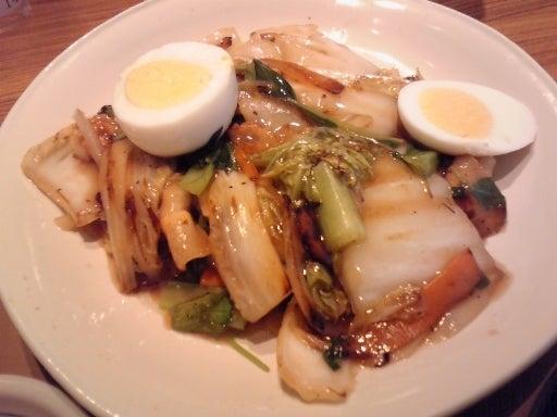 やよい軒-八宝菜と油淋鶏の定食-04