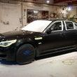 BMW M5のガラス…