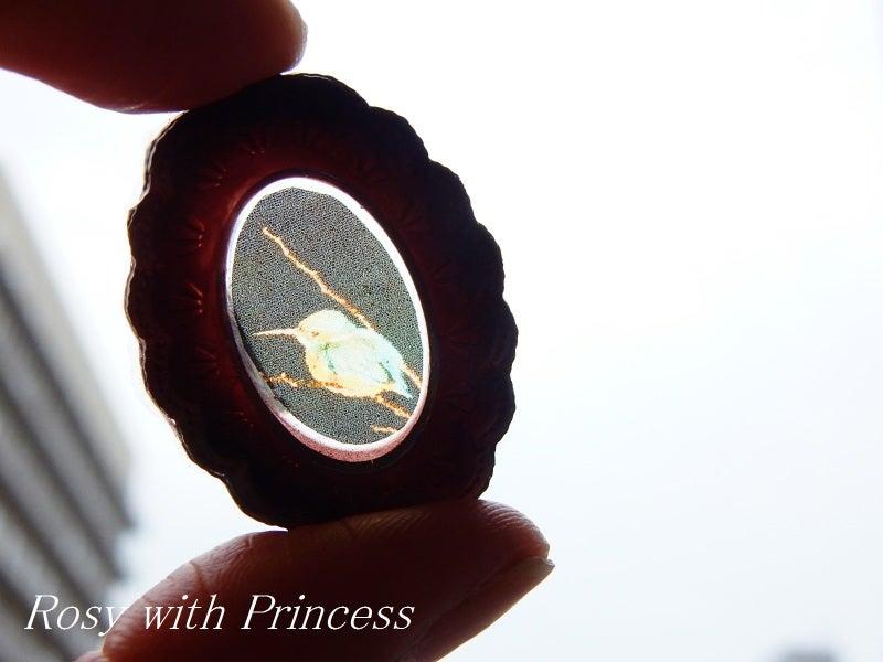 レジンフレーム 写真レジン 野鳥レジン カワセミ