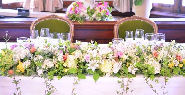 マダムトキ 結婚式 装花