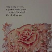 バラのお花のスタンプ…
