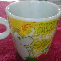 ムーミンのカップ