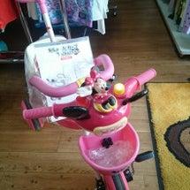 三輪車 ミニーちゃん