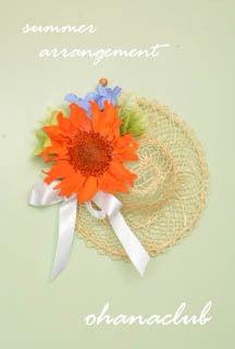 麦わら帽子壁掛けパートⅡ(1)