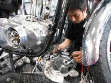 GS400Eステージ4納車整備中です。