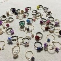 指輪いっぱい