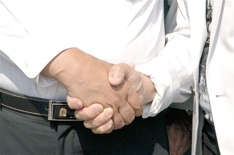 10 握手