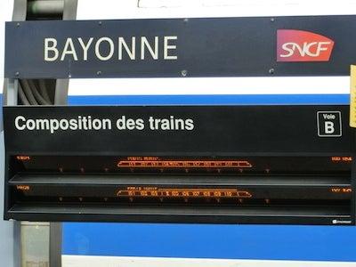 バイヨンヌ駅