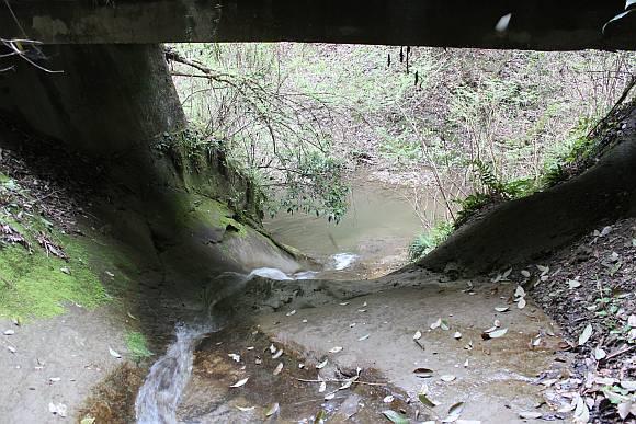 怒田の水路隧道
