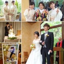 弟夫婦の結婚式でした