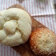 大っきなメロンパンと…