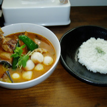 soup curry…