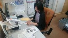 松井さん仕事中