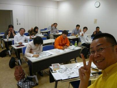 効果的なチラシ作成法セミナーの受講者さんと講師 新潟
