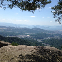 山歩きとなんば歩き。